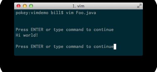 Foo.class output